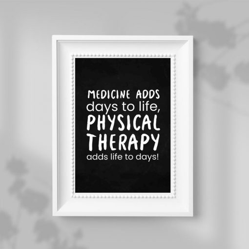 Plakat - Physical therapy