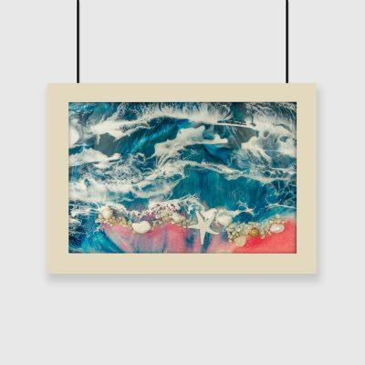 Plakat - Morze i fale