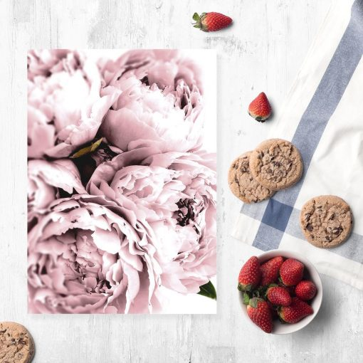 plakat do kuchni z kwiatami