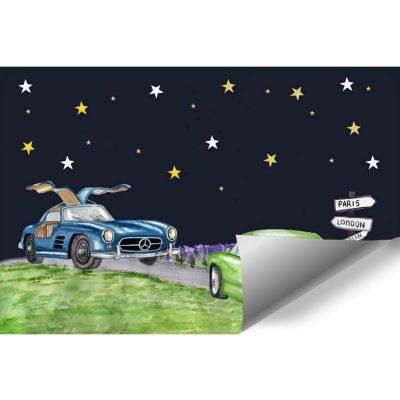 Fototapeta do pokoju dziecka - Samochody