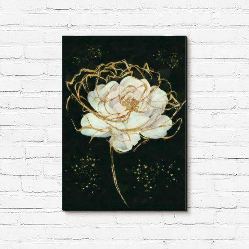 Obraz z motywem róży