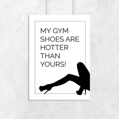 Plakat - My gym shoes