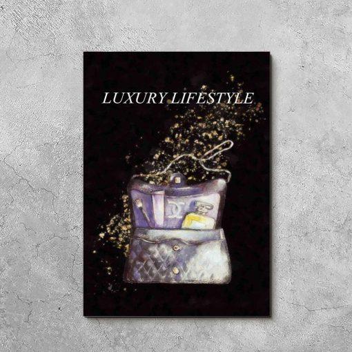 Obraz - Luxury lifestyle do salonu