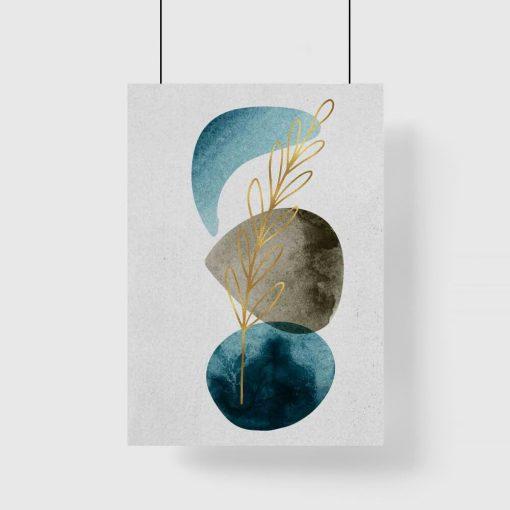 Artystyczny plakat do salonu - Roślina