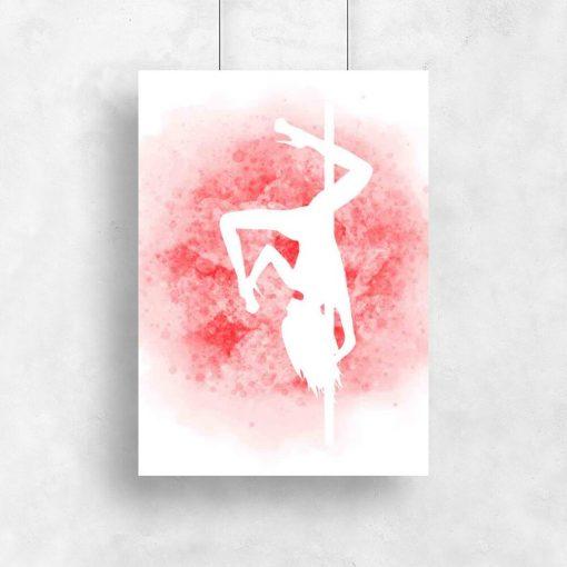 Plakat z figurą gemini