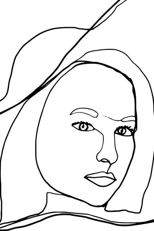 Artystyczny obraz - Kobieta