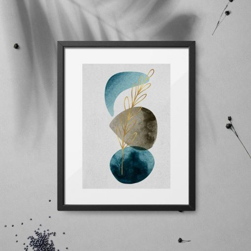 Artystyczny plakat do sypialni - Roślina