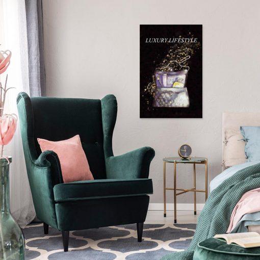 Obraz - Luxury lifestyle na ścianę sypialni