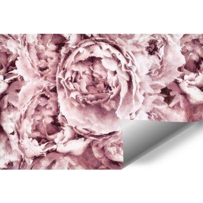 Botaniczna tapeta do pokoju - Piwonie
