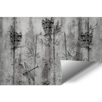 Fototapeta z bambusami do sypialni