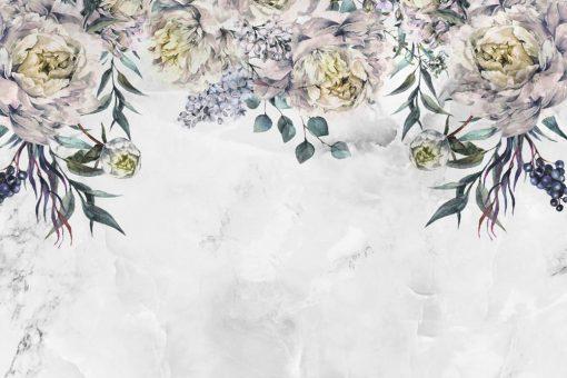 Tapeta - Kwiecisty wzór