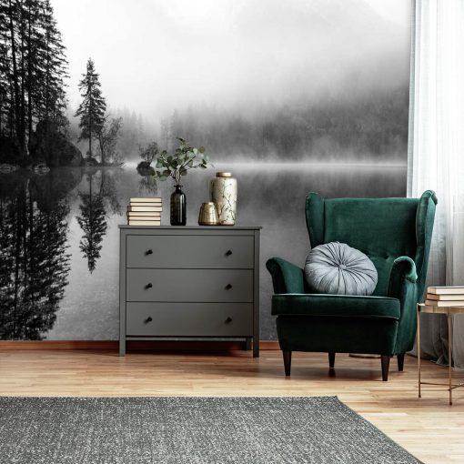 Fototapeta do biura - Mgła nad jeziorem