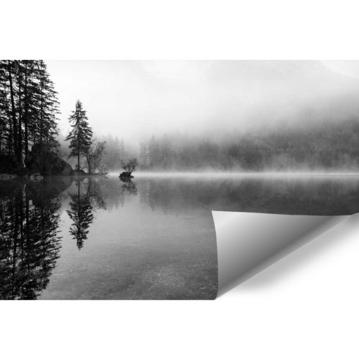 Fototapeta do pokoju - Mgła nad jeziorem