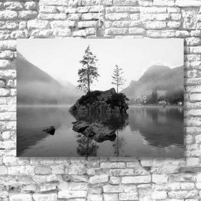 Obraz do salonu - Jezioro Hintersee