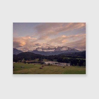 Obraz do biura podróży - Jezioro Geroldsee