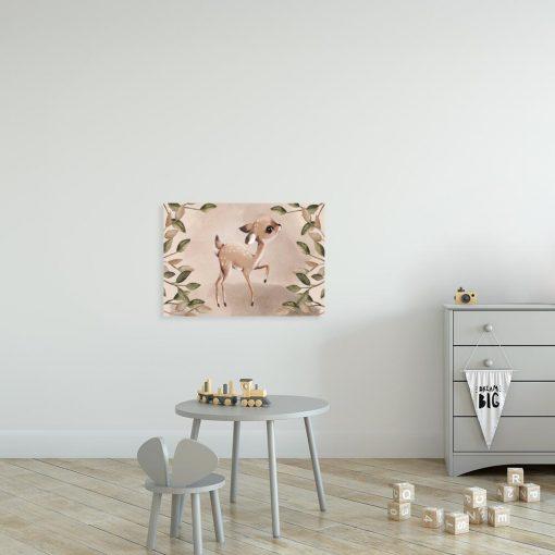 Obraz dla dziewczynki z sarną