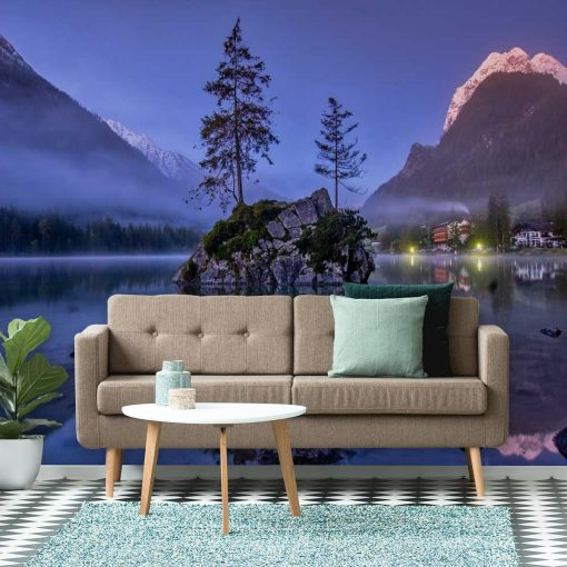 Fototapeta z jeziorem do sypialni - Bawaria