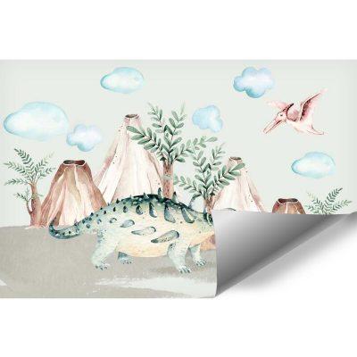 Świat dinozaurów - fototapeta dla dzieci