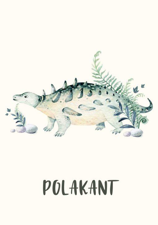 Polakant z rośliną - Plakat dla dzieci
