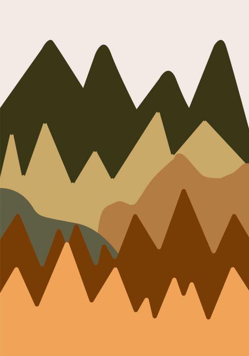Plakat nowoczesny - Abstrakcja