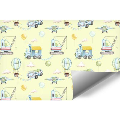 Samolociki - fototapeta dla chłopca