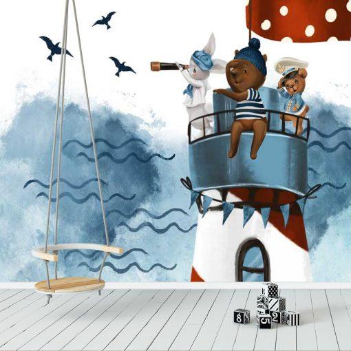 Fototapeta dziecięca - Latarnia Morska
