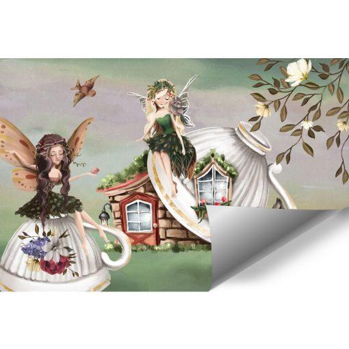 Bajkowy las - Tapeta dla dziewczynek