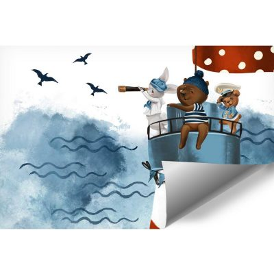 Bajkowa Latarnia morska - fototapeta dla dziec
