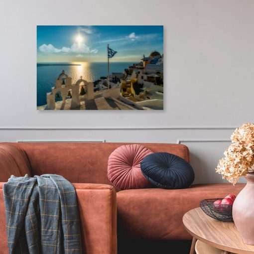 Obraz z lazurowym Morzem Egejskim do gabinetu