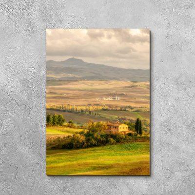 Obraz krajobraz we Włoszech