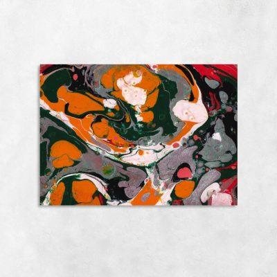 Obraz z motywem abstrakcji do dekoracji salonu