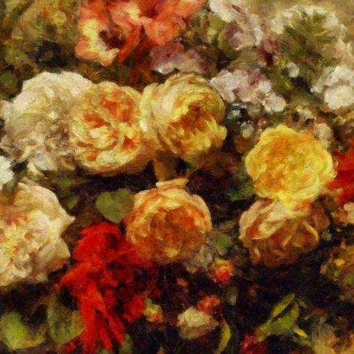 Fototapeta do salonu z różami