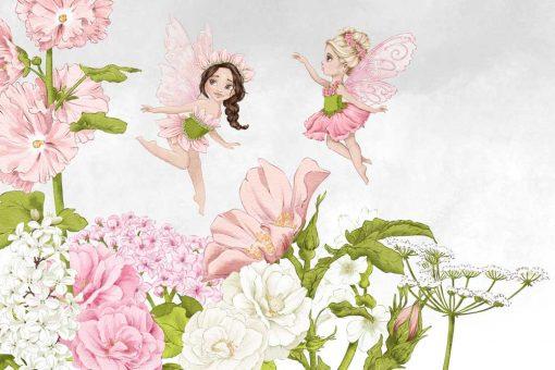Fototapeta z motywem bajkowym dla dziewczynki