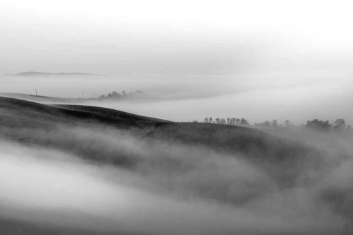 Obraz z mgłą