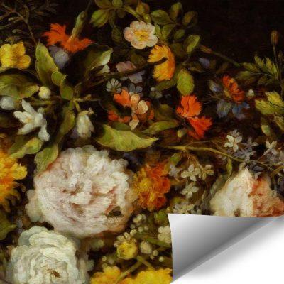 Fototapeta z kwiatowym motywem
