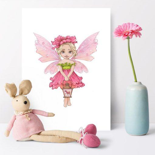 Leśna wróżka - Plakat dla niemowlaka