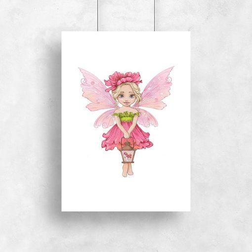 Leśna wróżka - Plakat dla dziewczynki