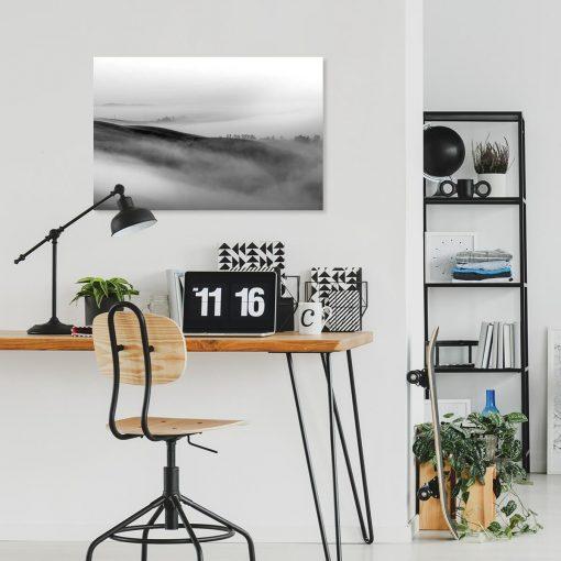 Obraz z mgłą do biura