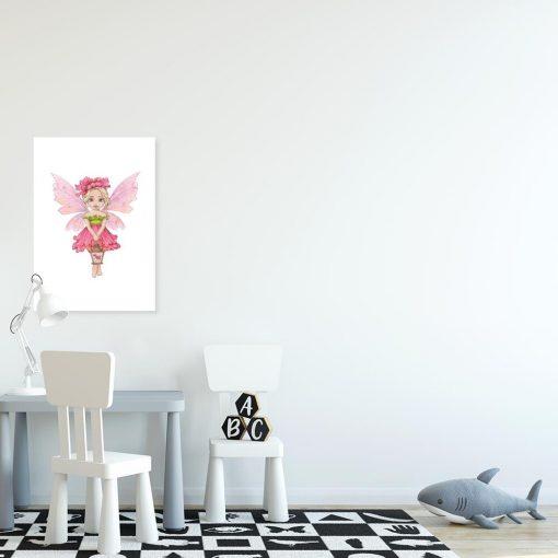 Leśna wróżka - Plakat do pokoju rodzeństwa