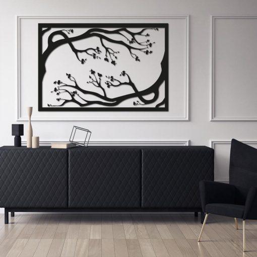 Trójwymiarowy plakat - drzewa