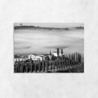 obraz z widokiem na toskanię