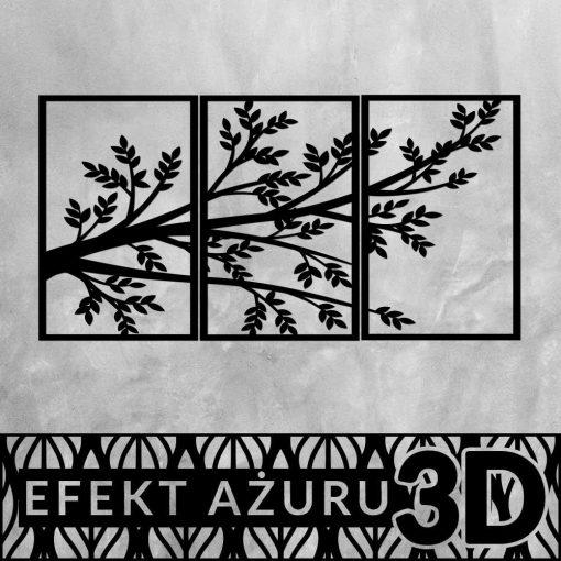 Gałąź drzewna - ażur dekoracyjny