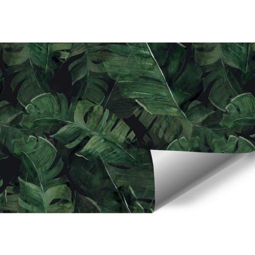 Fototapeta z zielonymi roślinami do ozdoby sypialni