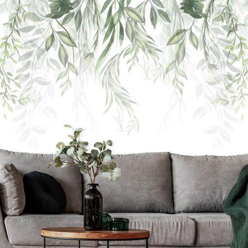 Foto-tapeta z roślinkami