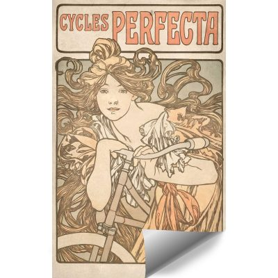 Fototapeta z afiszem reklamowym Cycles Perfecta