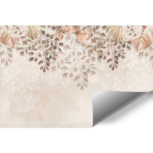 Delikatna fototapeta z motywem roślinnym do salonu kosmetycznego