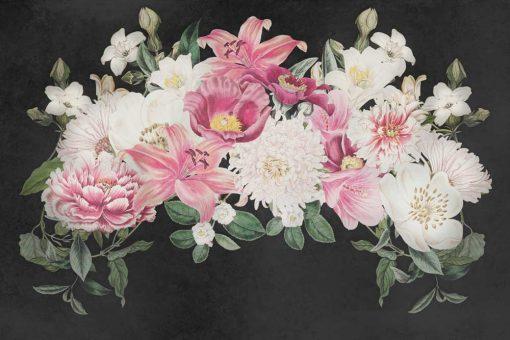 Foto-tapeta peonie i lilie