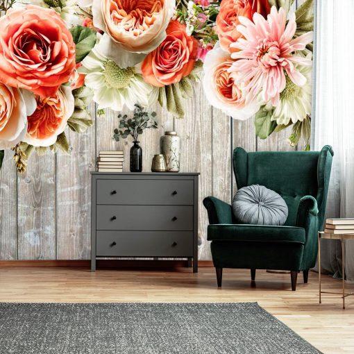 Foto-tapeta z kwiatami