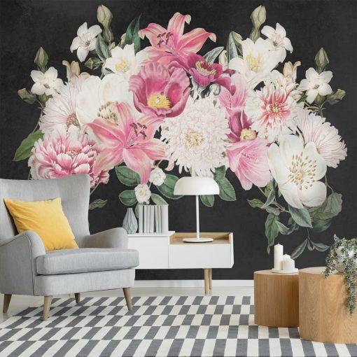 Foto-tapeta z liliami