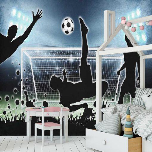 Foto-tapeta z piłkarzem dla chłopca